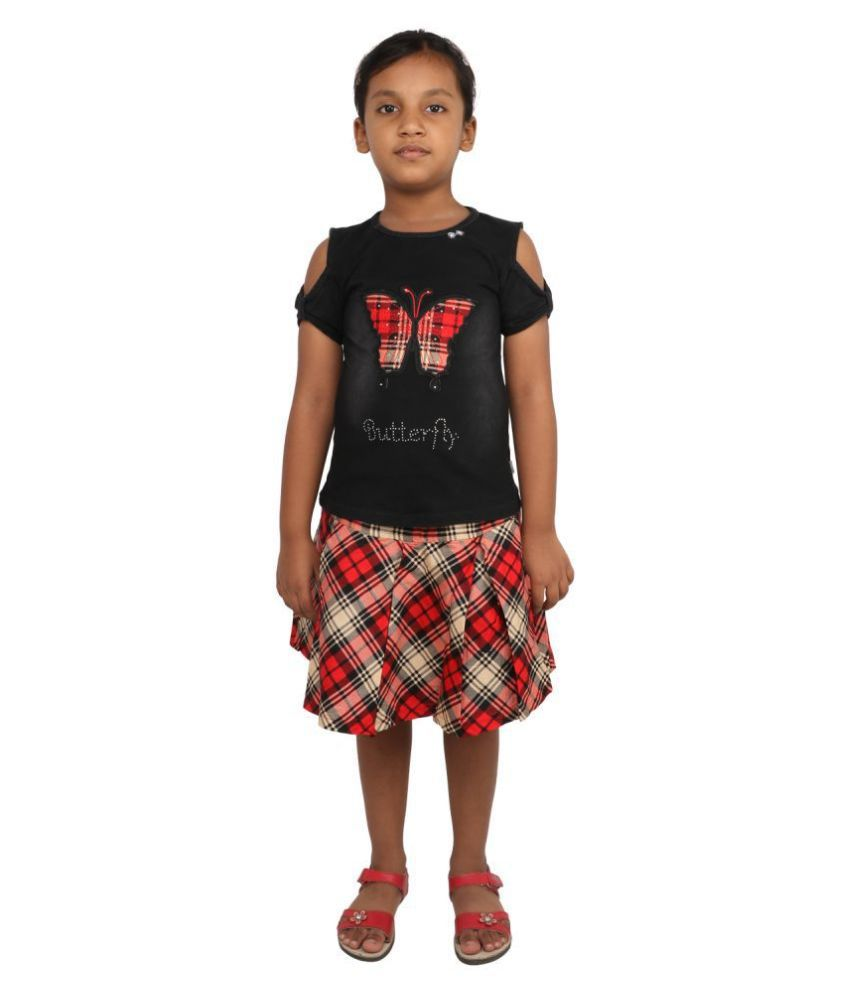 NJ Retails- Little Generation Girls Festive & Party Top and Skirt Set
