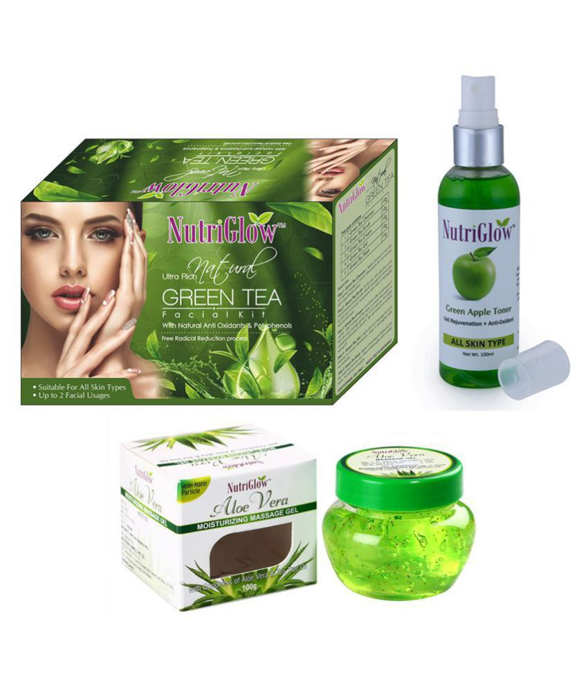 Nutriglow Facial Kit g Pack of 3