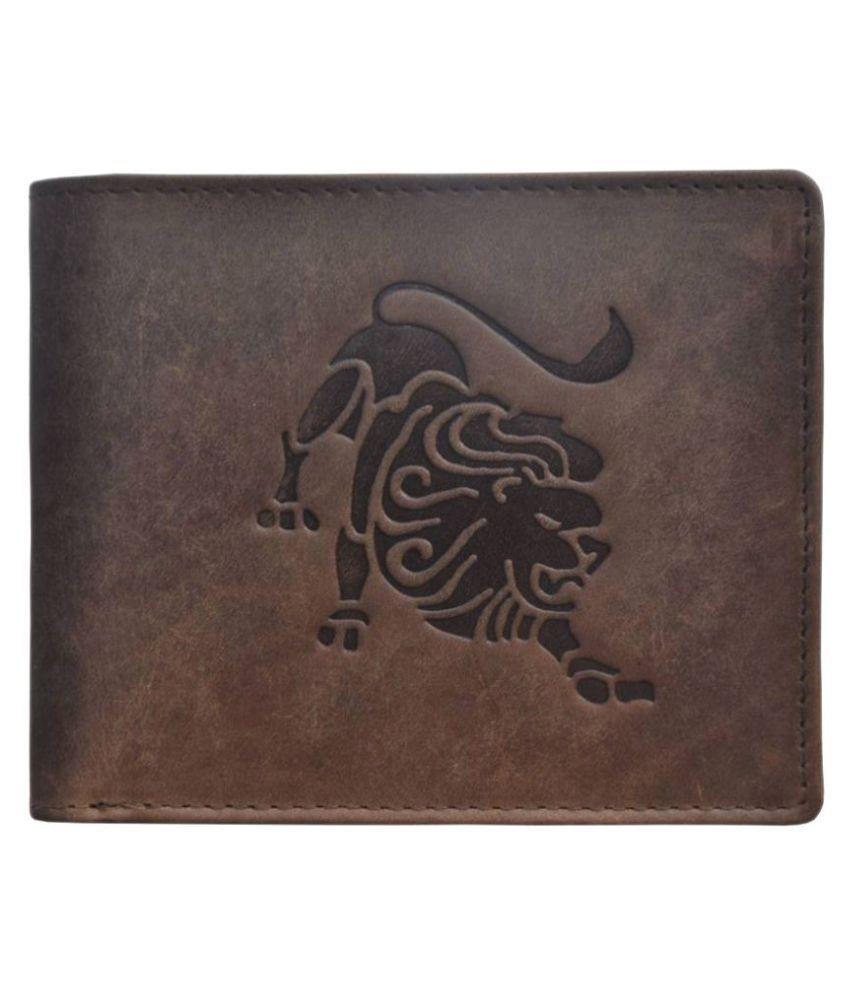 Tamanna Leather Brown Formal Regular Wallet