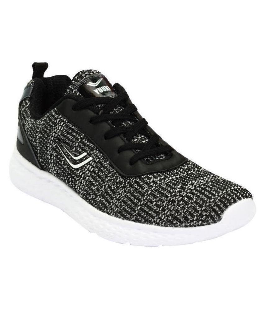 YUUKI AVEO Black Running Shoes