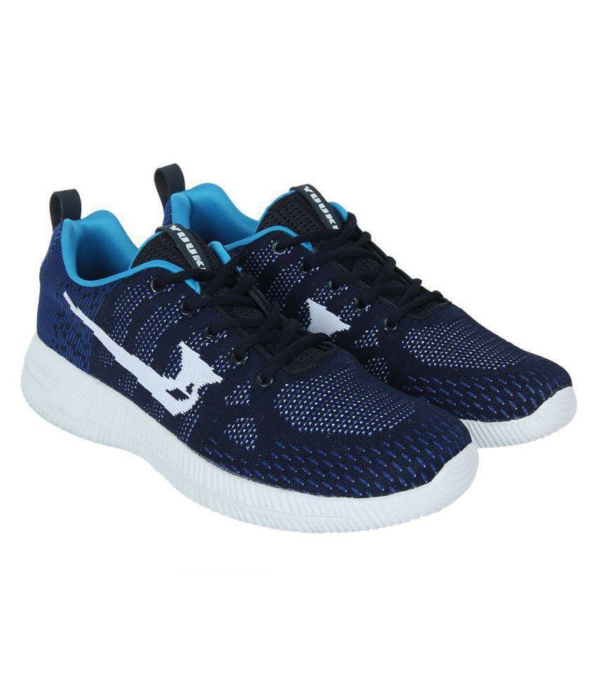 YUUKI EDWARD 2.0 Navy Running Shoes
