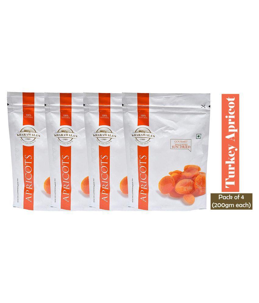Kharawala's Apricot (Khumani) 800 g Pack of 4