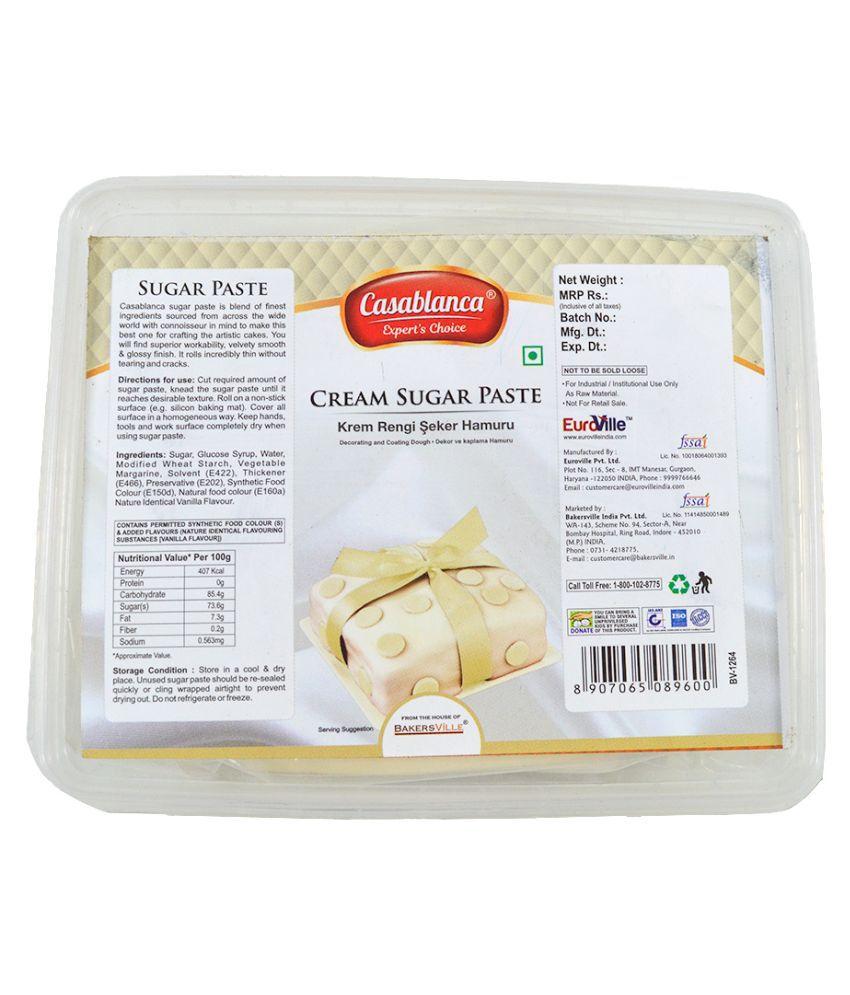 Casablanca Sugar Paste Cream 400 g
