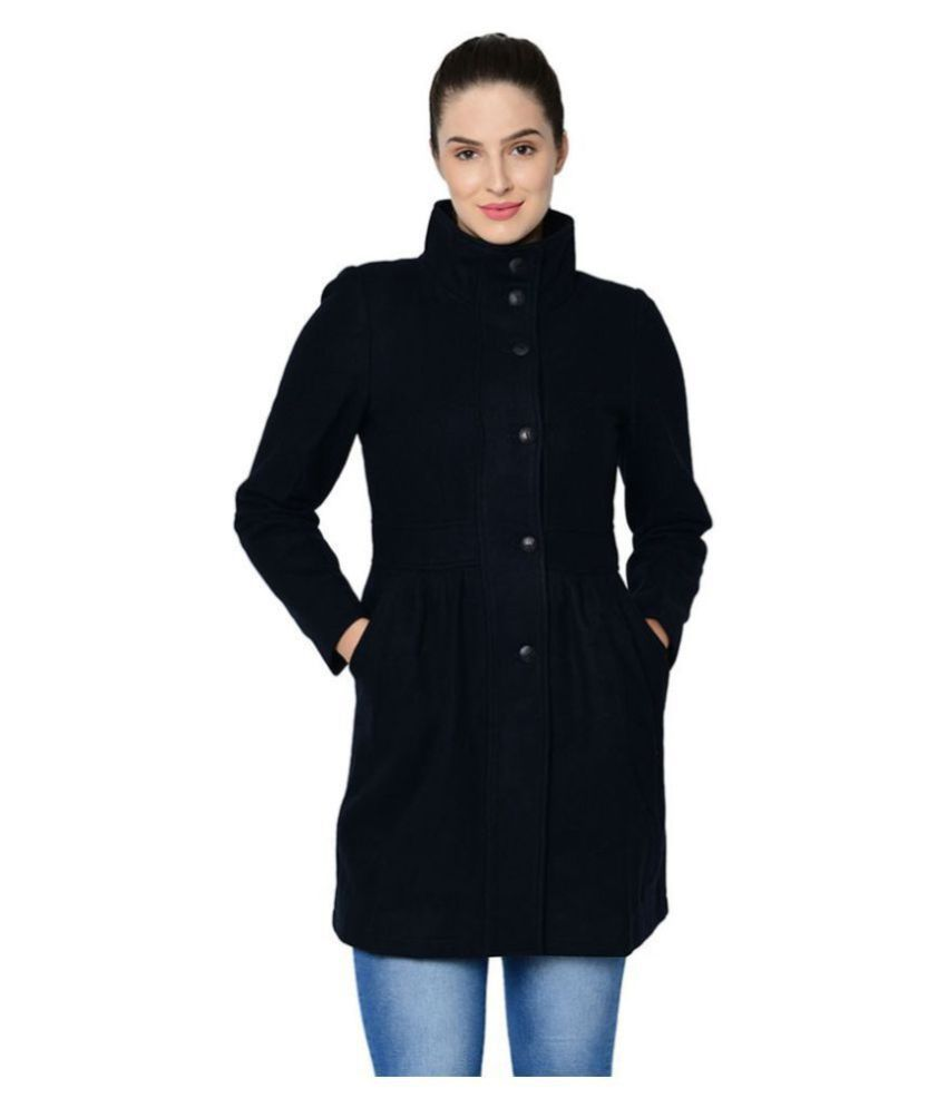Owncraft Woollen Navy Over coats