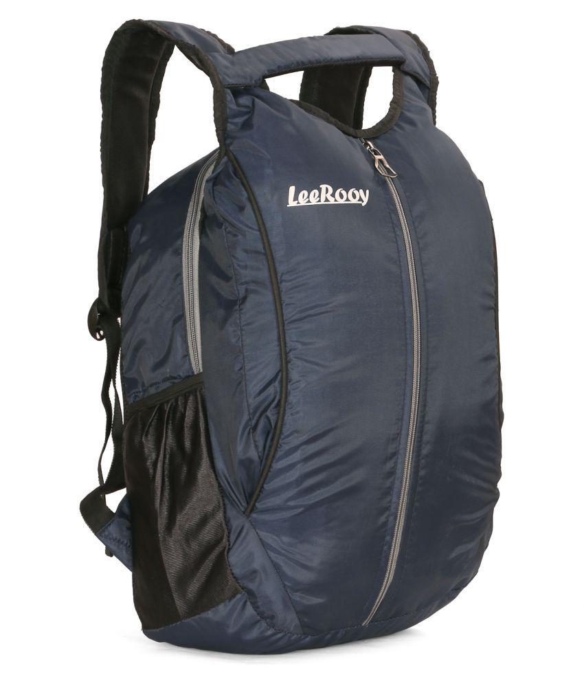 LeeRooy Blue Backpack