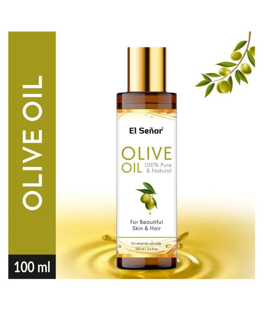 El Señor 100 % Pure & Natural For Hair & Skin Olive Oil 100 mL