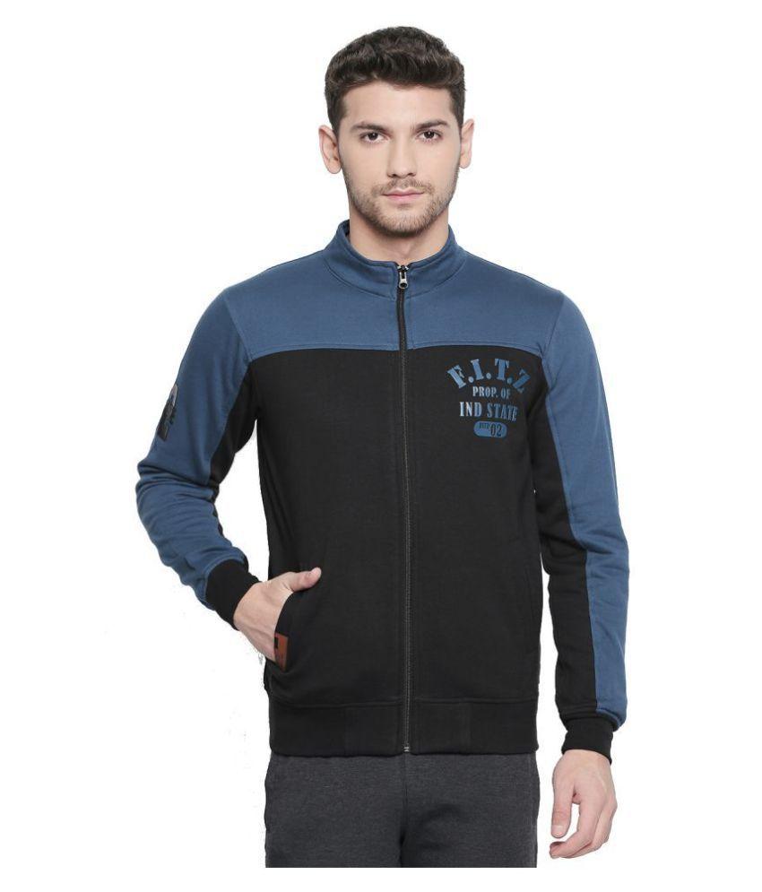 Fitz Black Sweatshirt