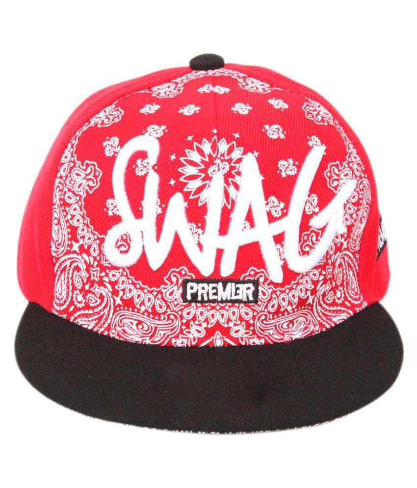 ILU Red Hip Hop Cap