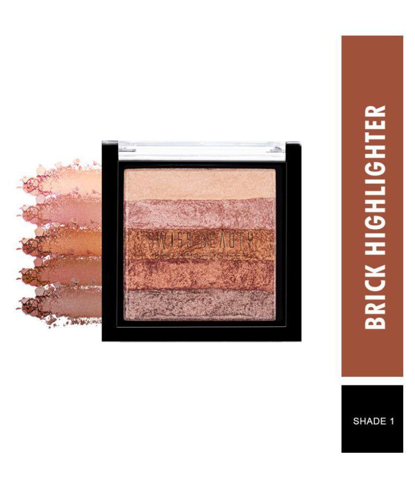 Swiss Beauty Brick Highlighter (Shade-03), 7gm