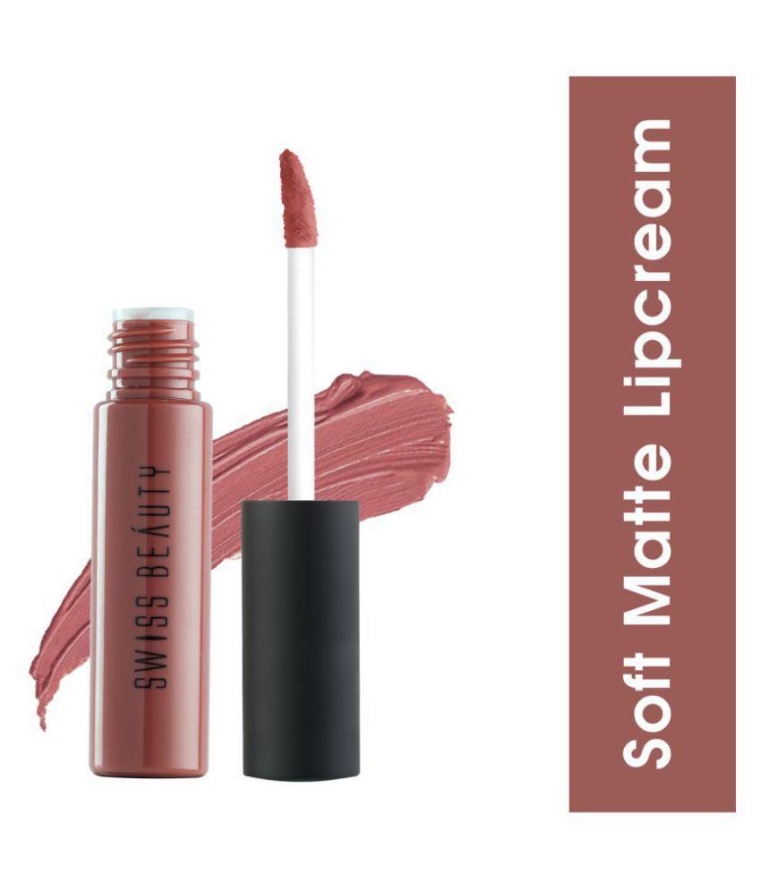 Swiss Beauty soft Matte Lipstick (Natural Tone), 6ml