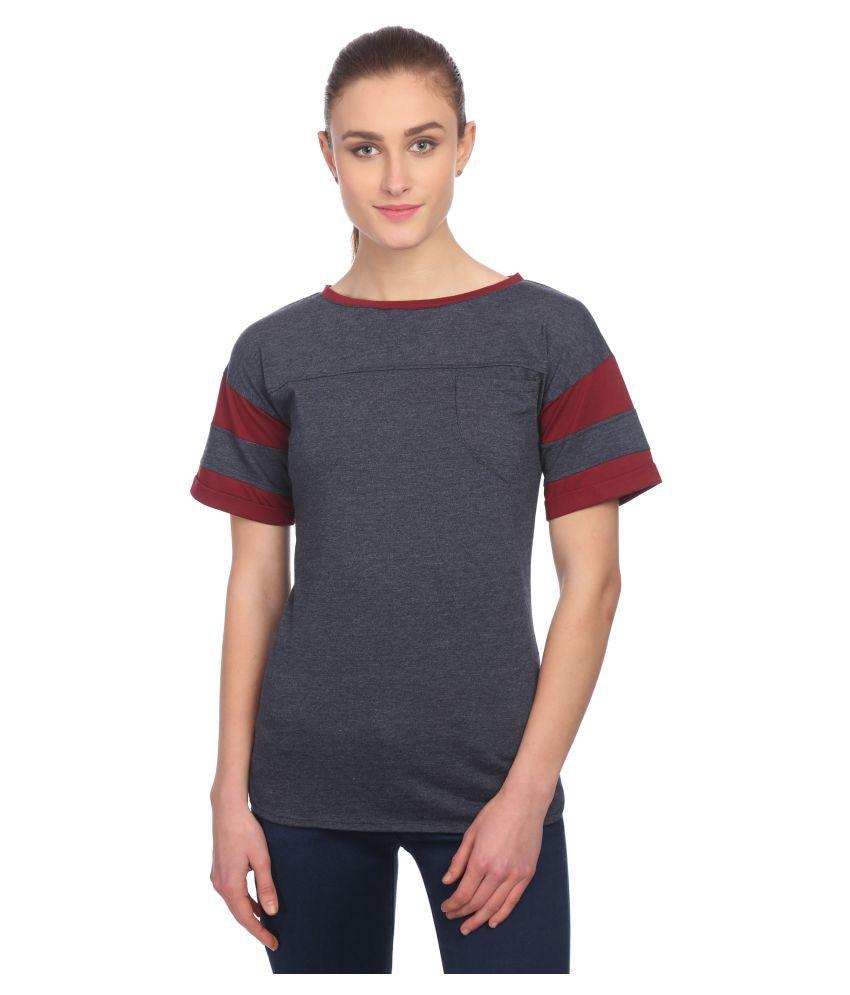 Veronique Cotton Multi Color T-Shirts
