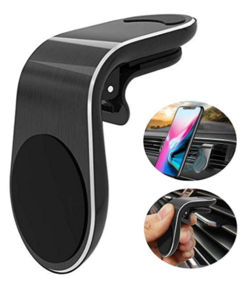 Aeoss Car Mobile Holder Magnetic for Dashboard  amp; Windshield   Black