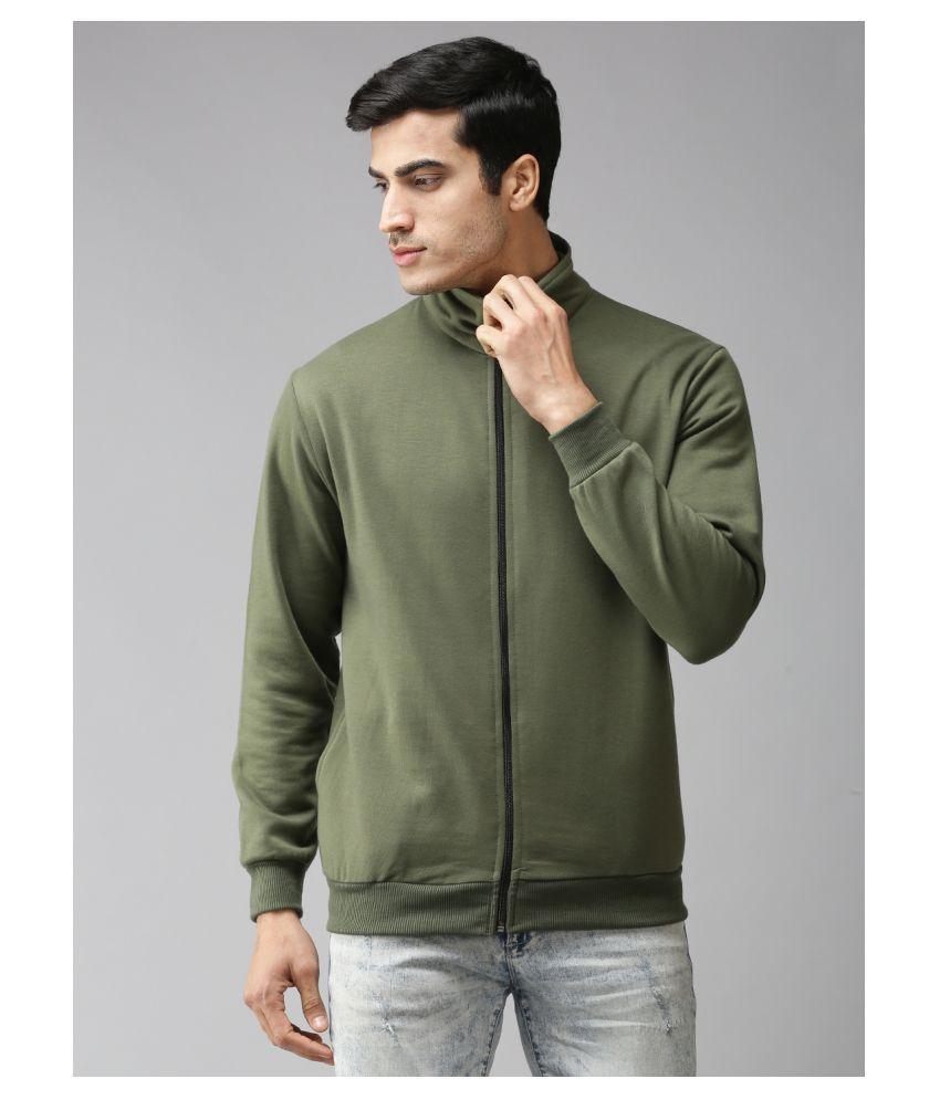 EPPE Olive Polyester Fleece Sweatshirt Single Pack