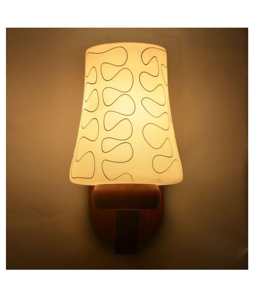 AFAST Decorative Wall Lamp Light Wood Wall Light Multi - Pack of 1