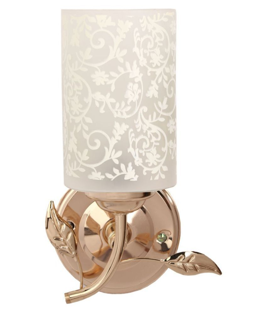 Somil Decorative Lamp Glass Wall Light Gold - Pack Of 1