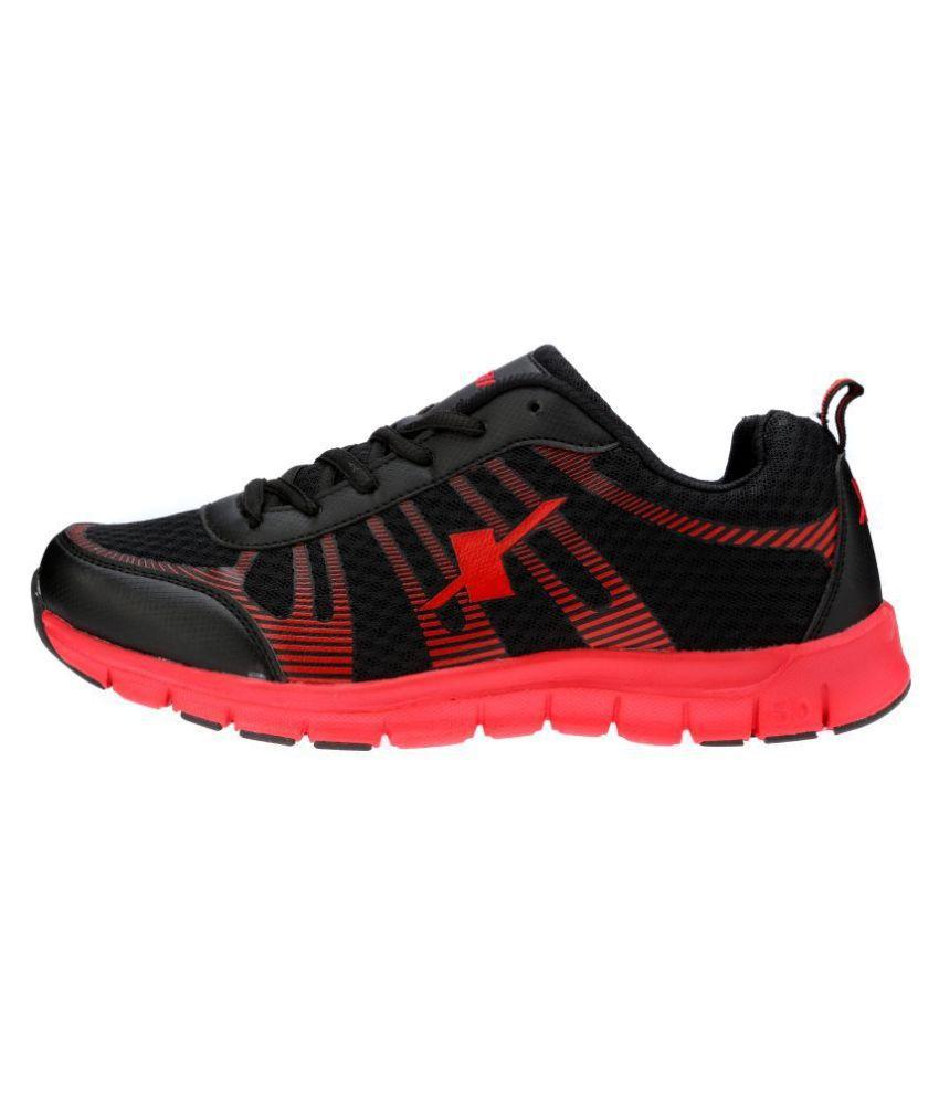 Sparx SM-218 Black Running Shoes - Buy