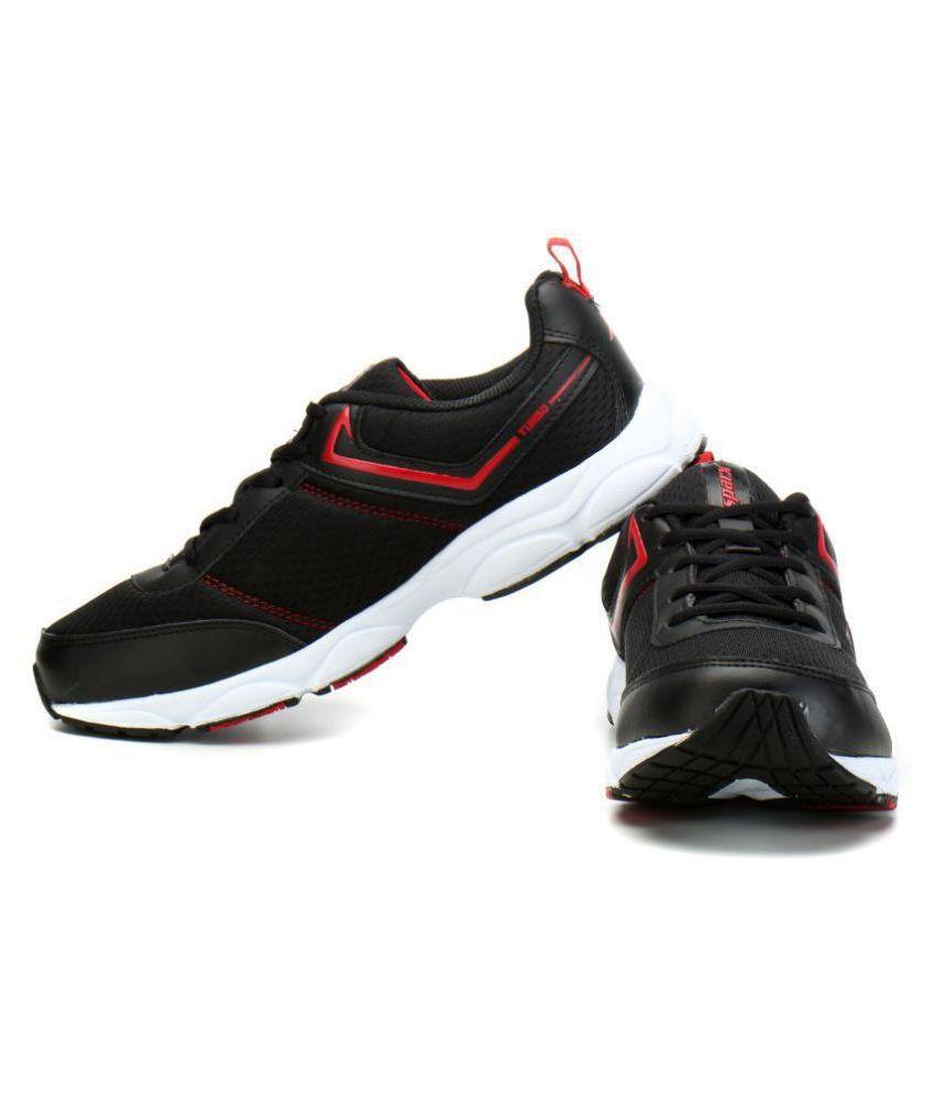 Sparx SM-349 Black Running Shoes