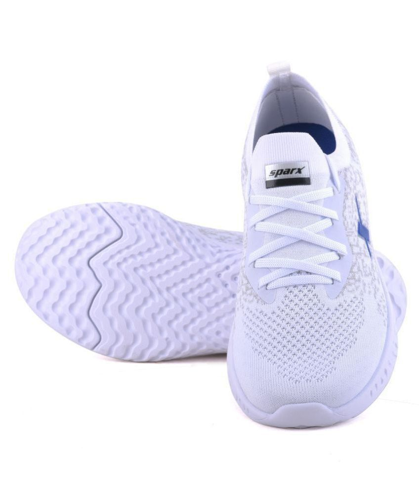 Sparx SM-443 White Running Shoes - Buy