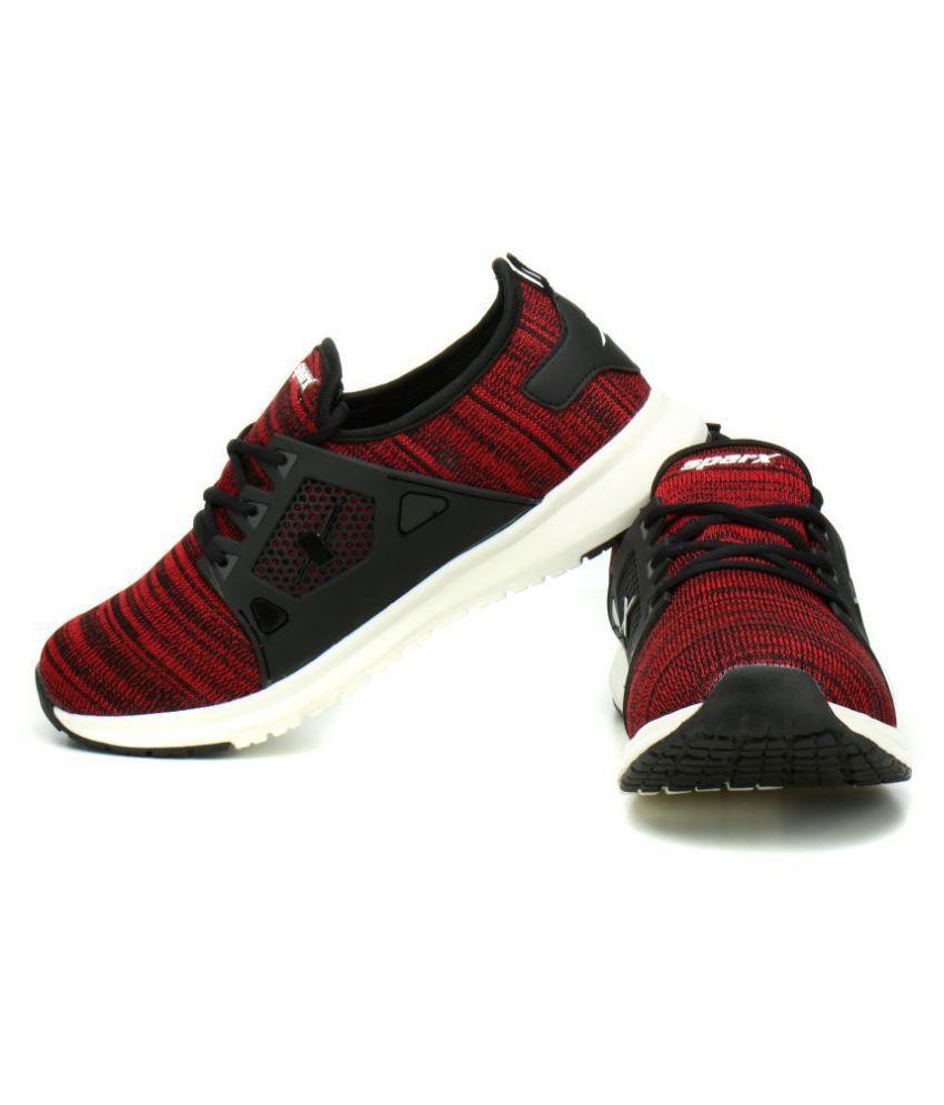 Sparx SM-509 Black Running Shoes