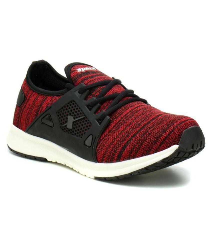 Sparx SM-509 Black Running Shoes - Buy
