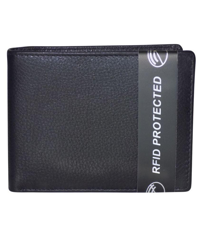 Style 98 Leather Black Formal Regular Wallet