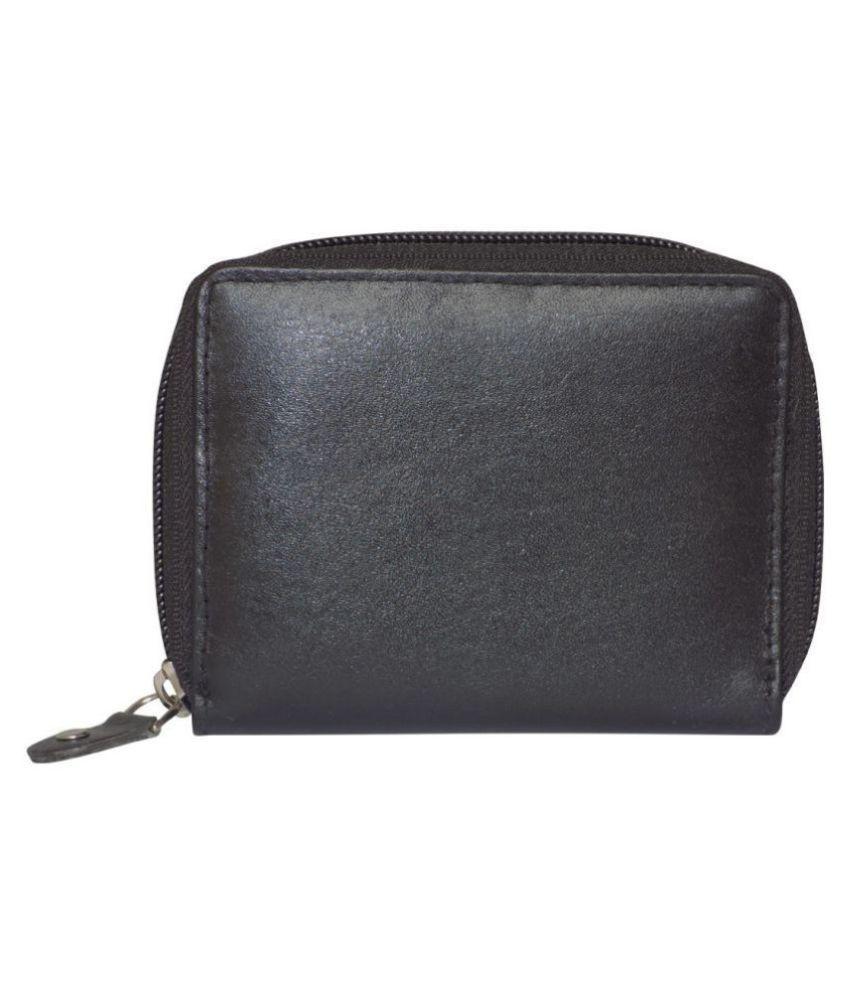 Style 98 Leather Black Formal Traveller Wallet
