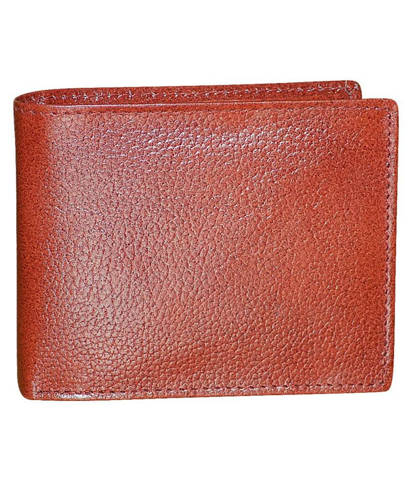 Style 98 Leather Brown Fashion Short Wallet
