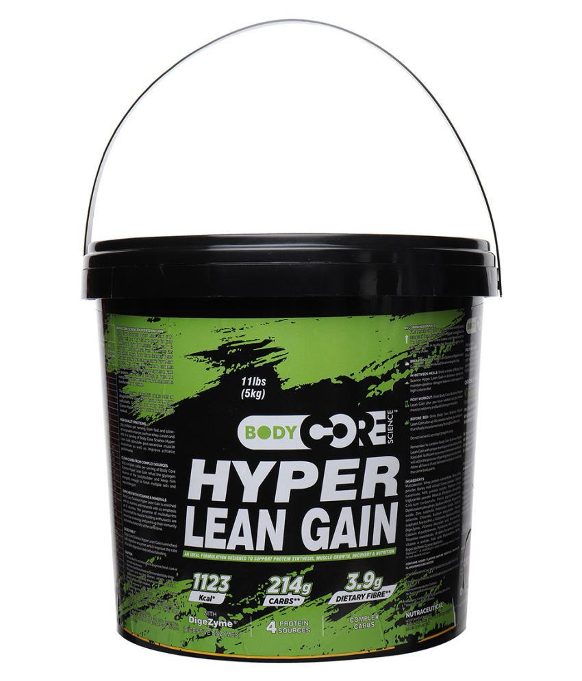 BCS Hyper Lean Gain Chocolate 5 Kg 100% Authentic Products 5 50 kg Weight Gainer Powder