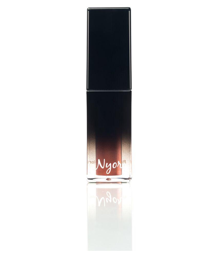 NYOR Sunkissed Lip Plumper Cream Light Shimmery Rust