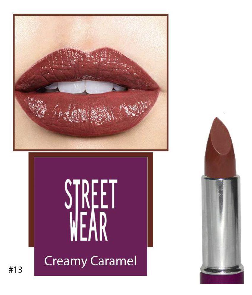 Shri Enterprises STREET WEAR Lipstick 013 Purple 4.2 g