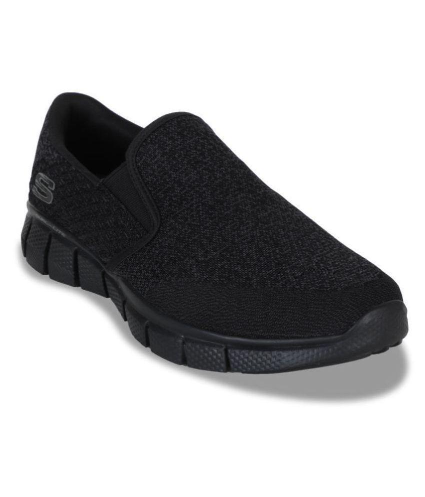 Skechers 51521-BBK Black Running Shoes
