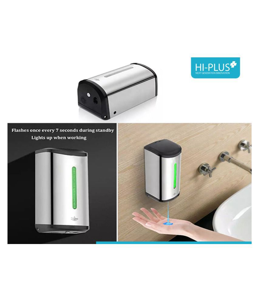 HI-Plus Stainless Steel Soap Dispensers