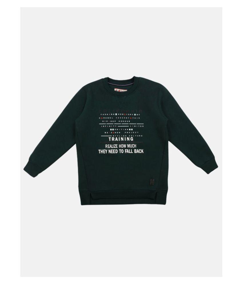 Li'l Tomatoes Full Sleeve Round Neck Boys Sweatshirt