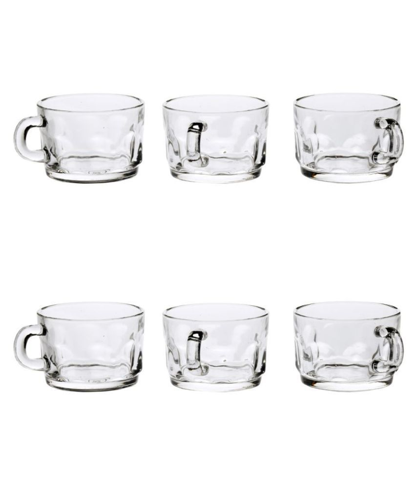 Somil Glass Tea Cup Set-Cp55 Tea Cup 6 Pcs 110 ml