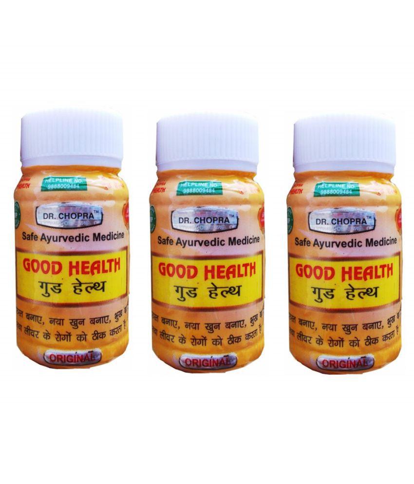 Dr.Chopra Pharmacls Good Health Capsule 50 no.s Pack of 3