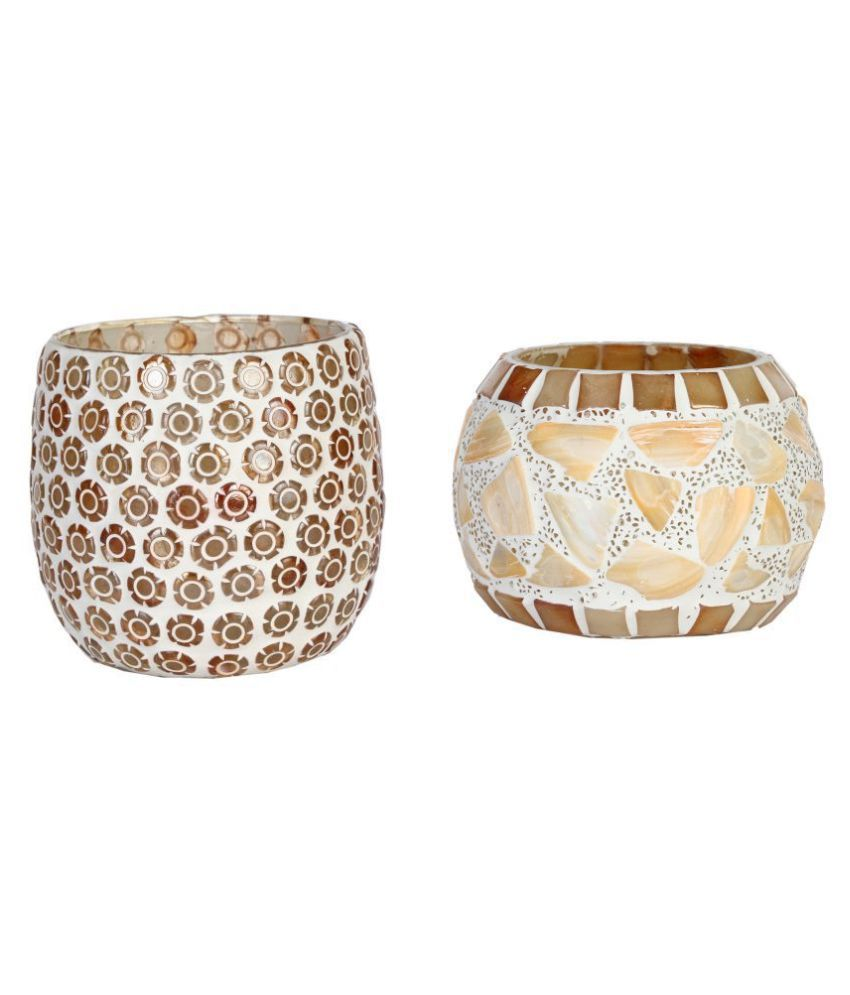 AFAST Brown Votive Candle - Pack of 2