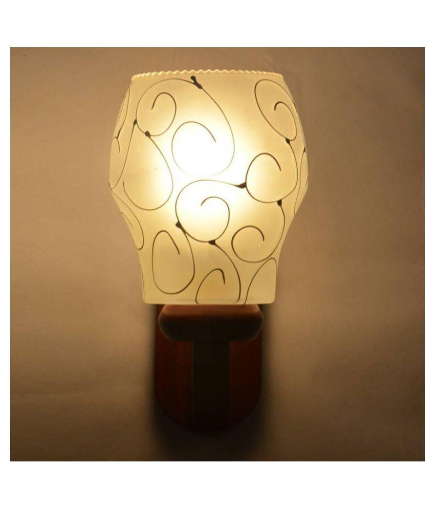 AFAST Decorative & Designer Glass Wall Light Multi - Pack of 1