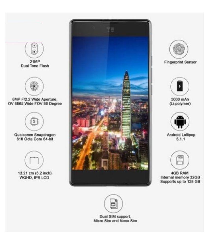 Micromax Yu Yutopia 5050   32 GB , 4  GB   Graphite