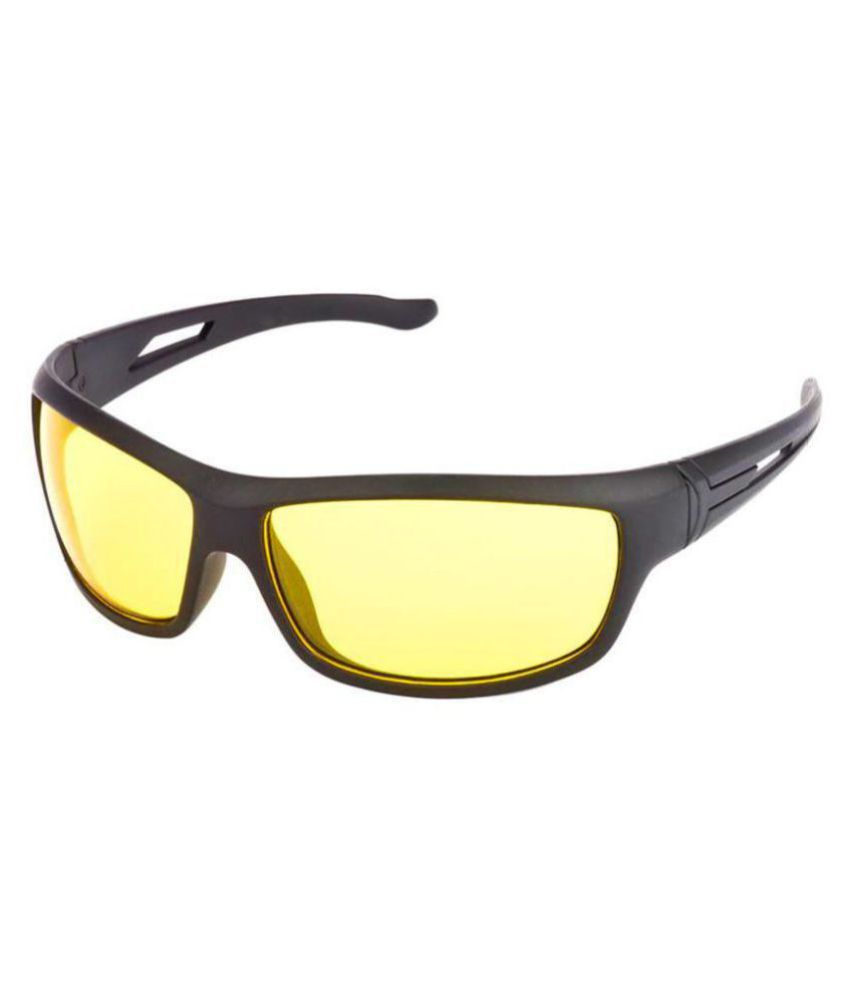 Night Vision Super Clear Helmet Glass Glasses For Car & Bike Perfect Night Driving For Car & Bike