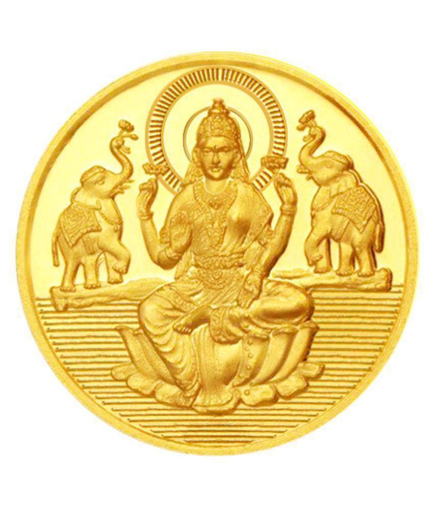 Jagdamba Gold 10 gram Lakshmi Coin