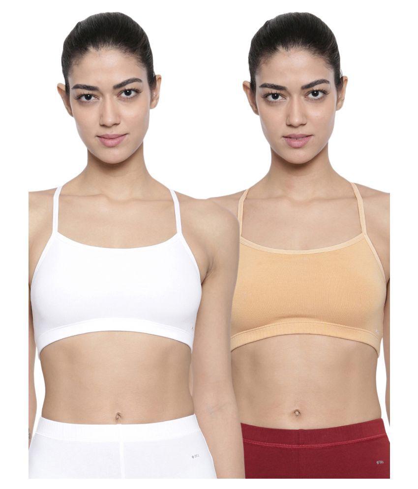 Bitz Cotton Convertable Bra - Multi Color