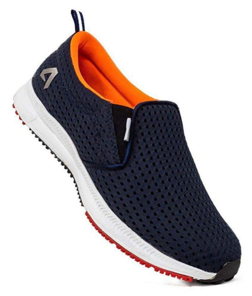 Avant Bolt Slip On Blue Running Shoes