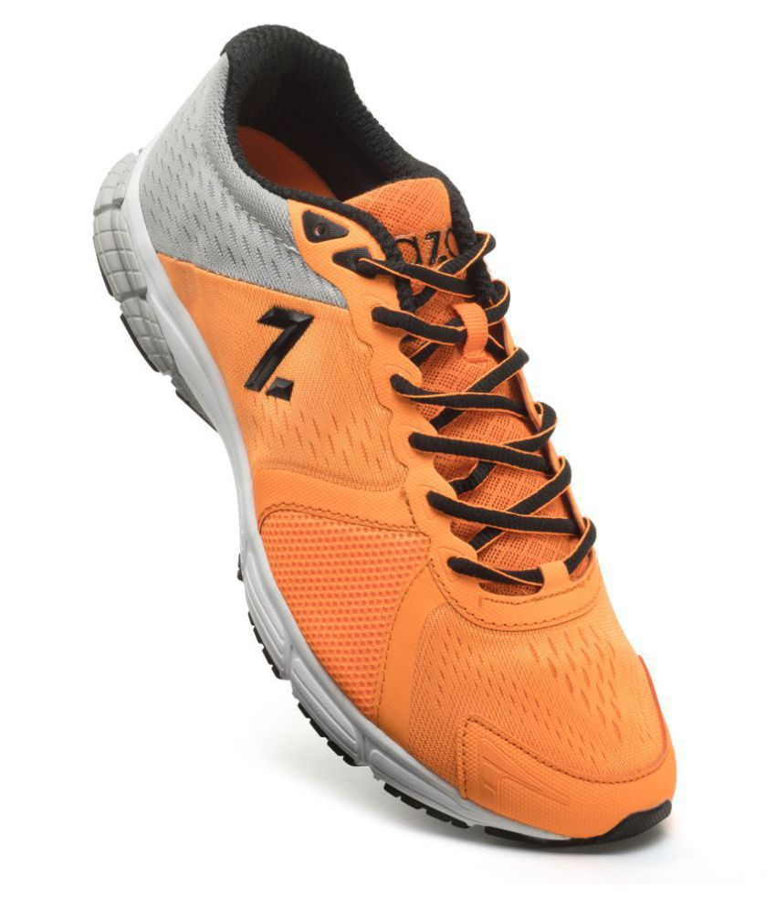 Azani Hyper Glide Orange Running Shoes