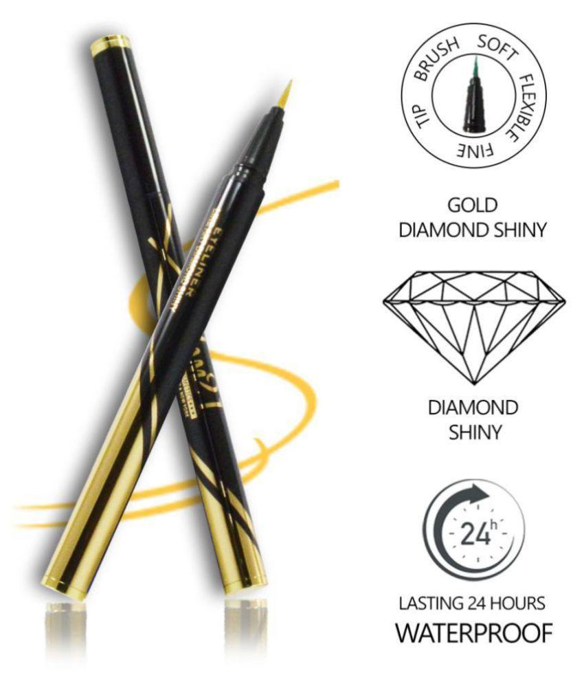 Glam21 Line Art Diamond Shiny-EY104 Pencil Eyeliner Gold 2.5 g