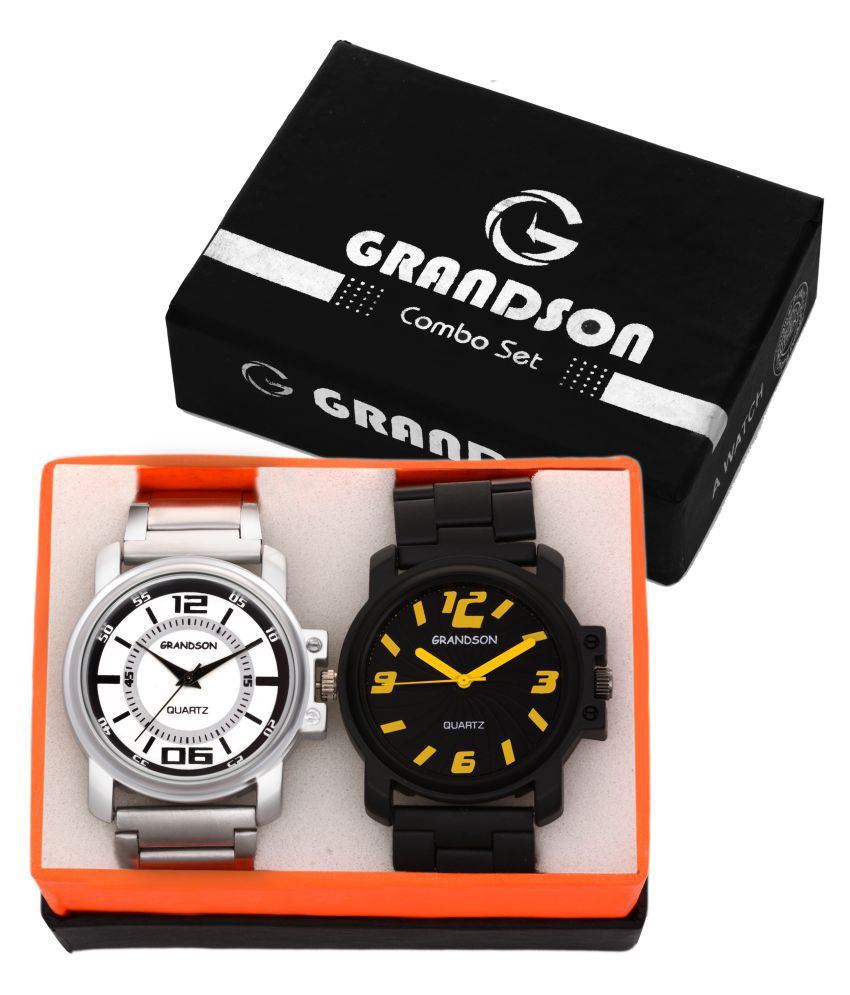 Grandson Analog Watches For Men And Boys