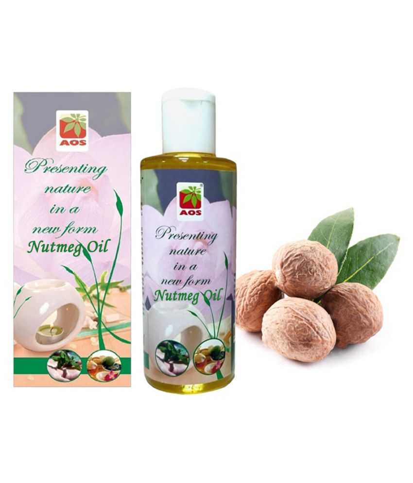 AOS Product100% Pure Nutmeg Essential Oil 100 mL