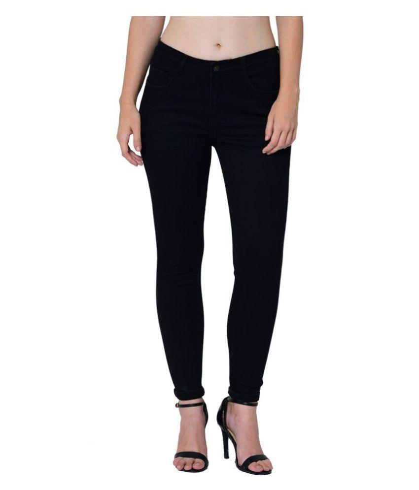 2Bme Cotton Jeans - Black