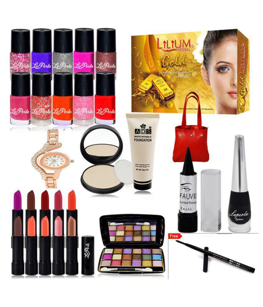 Adbeni Big Deal Big Saving Combo Makeup Sets Pack of 29 Makeup Kit 100