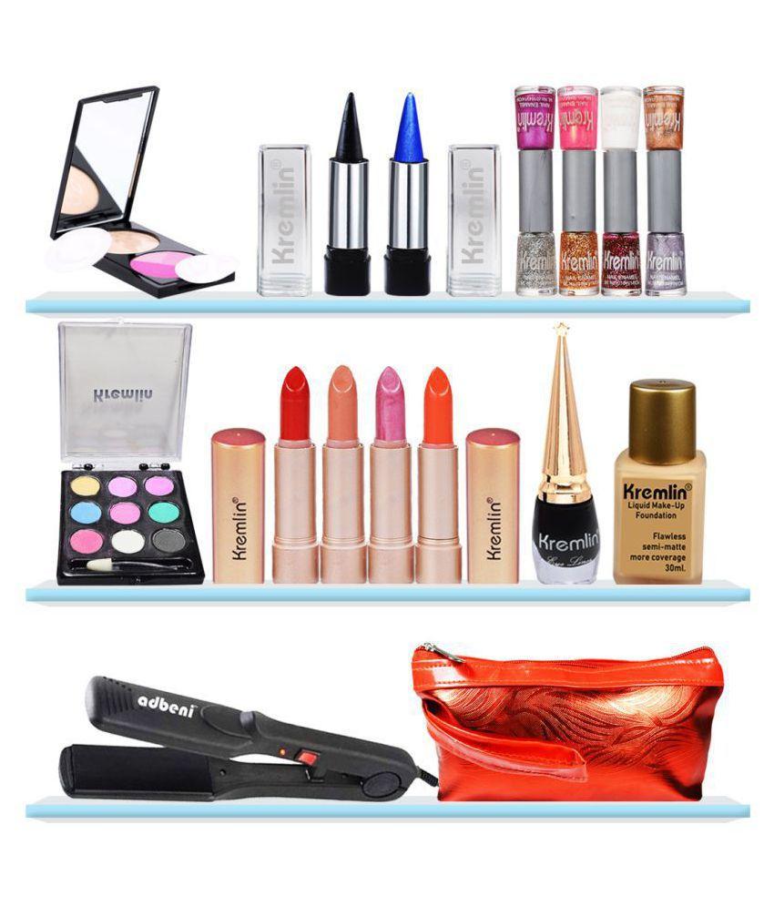 Adbeni Makeup Glamour Kit With Hair