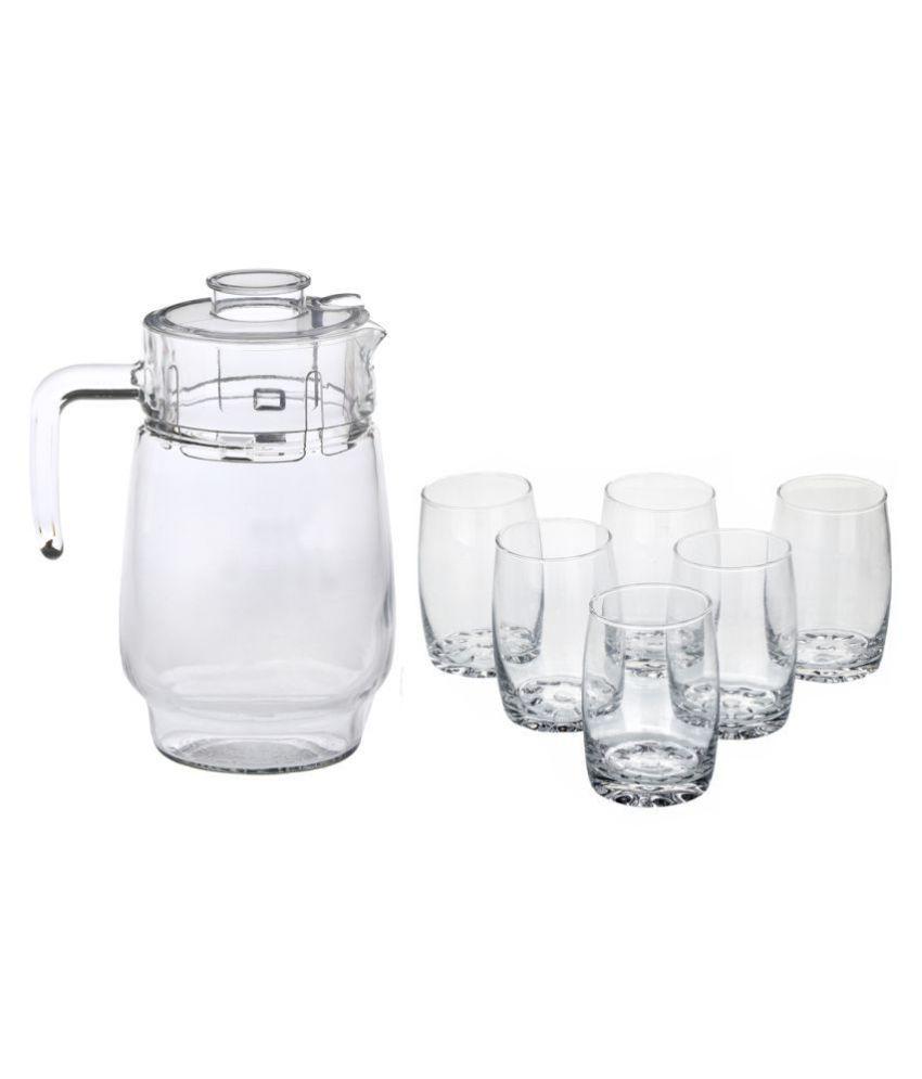 Somil Glass 1750 ml Jug & Glass Sets